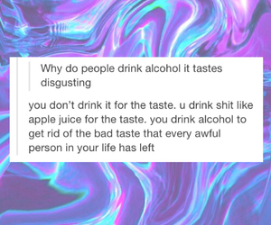 alcohol, blue, and purple image