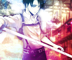 anime, rivaille, and heichou image