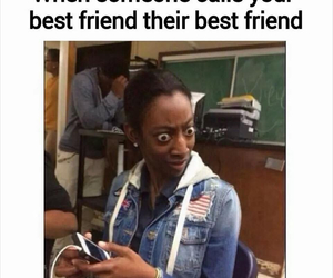 funny, friends, and best friends image