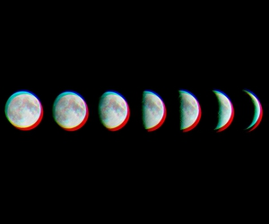 amazing, moon, and phases image