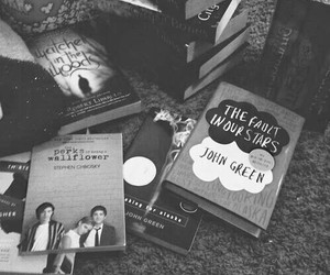 book, the fault in our stars, and john green image