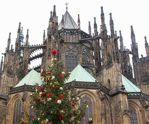 beautifull, cathedral, and christmas image