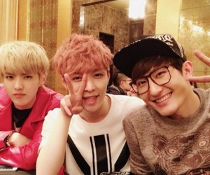 kris, lay, and exo image
