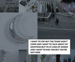 crying, poems, and feelings image