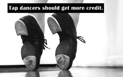 Tap dancers should get more credit on We Heart It