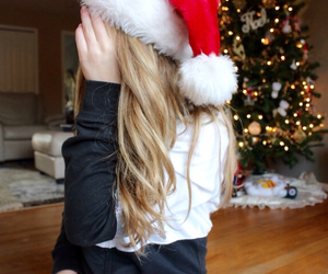 christmas, girl, and tumblr image