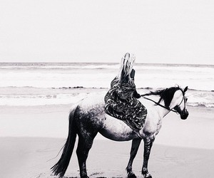 beach, ocean, and spiritual image