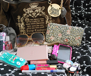 bag, iphone, and juicy couture image