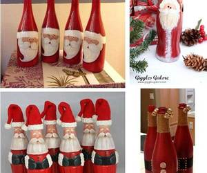 diy, christmas, and santa image