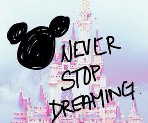 disney, Dream, and never image