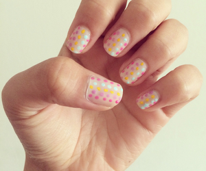 colorful, hand, and manicure image