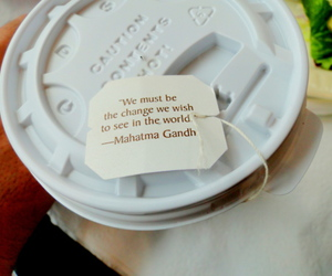 gandhi, quote, and inspiration image