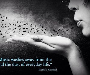 blowing, dust, and quote image