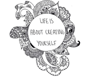 life and create image