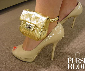chanel, purse, and shoes image