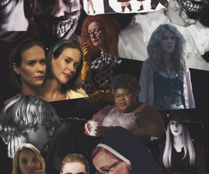 asylum, coven, and emma roberts image