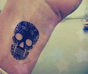 black, i want, and sugar skull image
