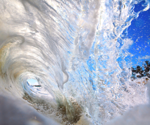 waves, water, and photography image