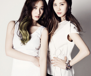 snsd, f(x), and krystal image