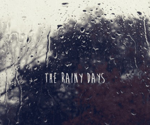 rain, rainy, and rainy day image