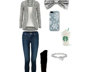 winter and cute outfit image