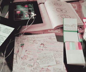 medicine, notes, and inspiration image