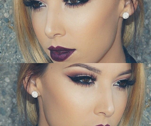 eyes, makeup, and idea image