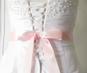 bow, dreamy, and dress image
