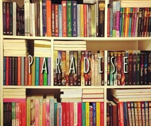 book, paradise, and love image