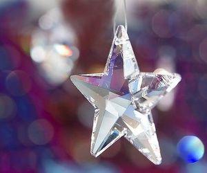 stars, christmas, and crystal image