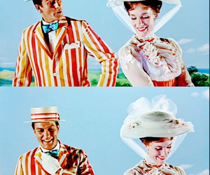bert, disney, and Mary Poppins image