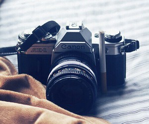 camera, relax, and retro image