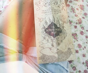 harry potter and vintage image