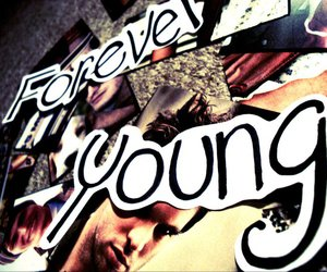 Forever Young and quote image