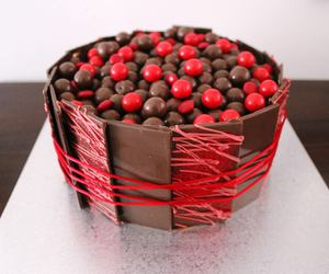 chocolate, cake, and red image