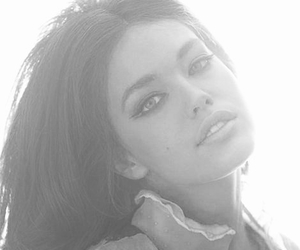 black and white, brunette, and classy image