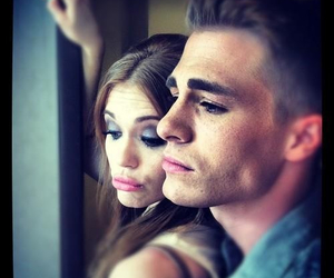 colton haynes, holland roden, and teen wolf image