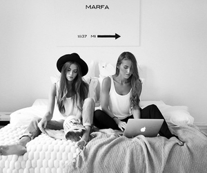 friends, best friends, and bed image