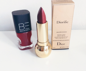beauty, dior, and lipstick image