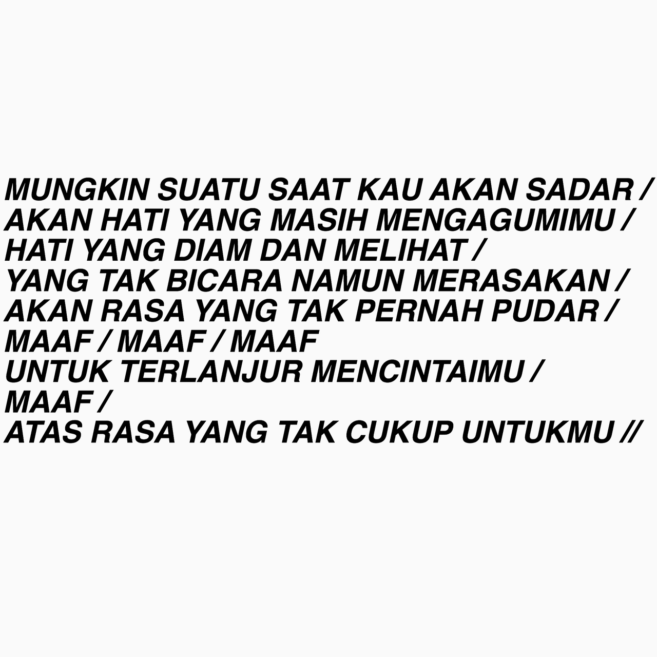 images about bahasa on we heart it see more about quotes
