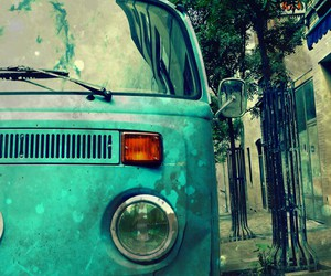 car, hippie, and hipster image