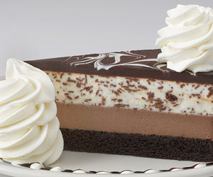 cake, cheesecake, and chocolate image