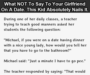 date, funny, and girlfriend image