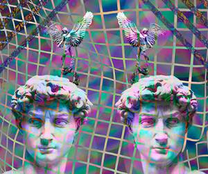 art, psychedelic, and Psycho image