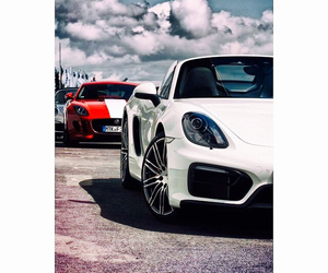 black, blue, and cars image