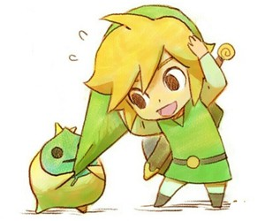 link, the legend of zelda, and chibi image