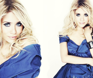 olsen, blonde, and blue image