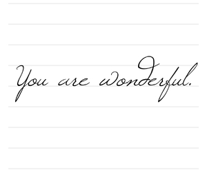 love, you, and wonderful image