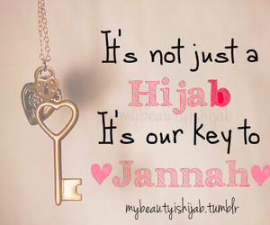 hijab, islam, and jannah image