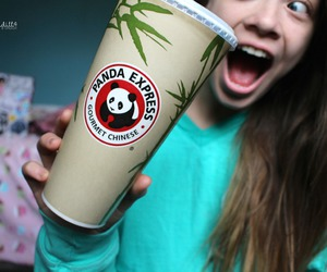 coffee, panda express, and cold image